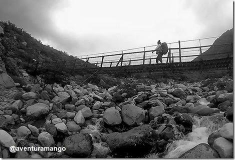 Ponte a caminho de Los Cuernos