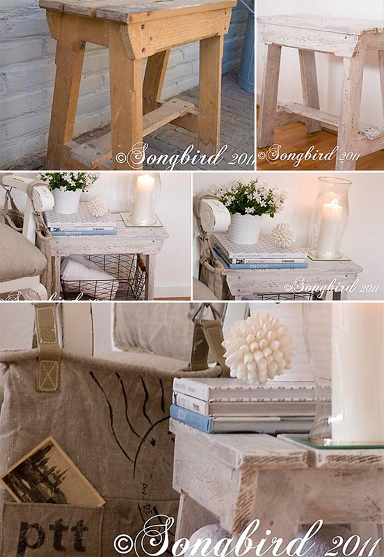 Songbird Sawhorse Bench Makeover