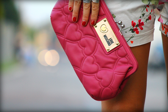 TOTAL PINK: COMPLETO A FIORI