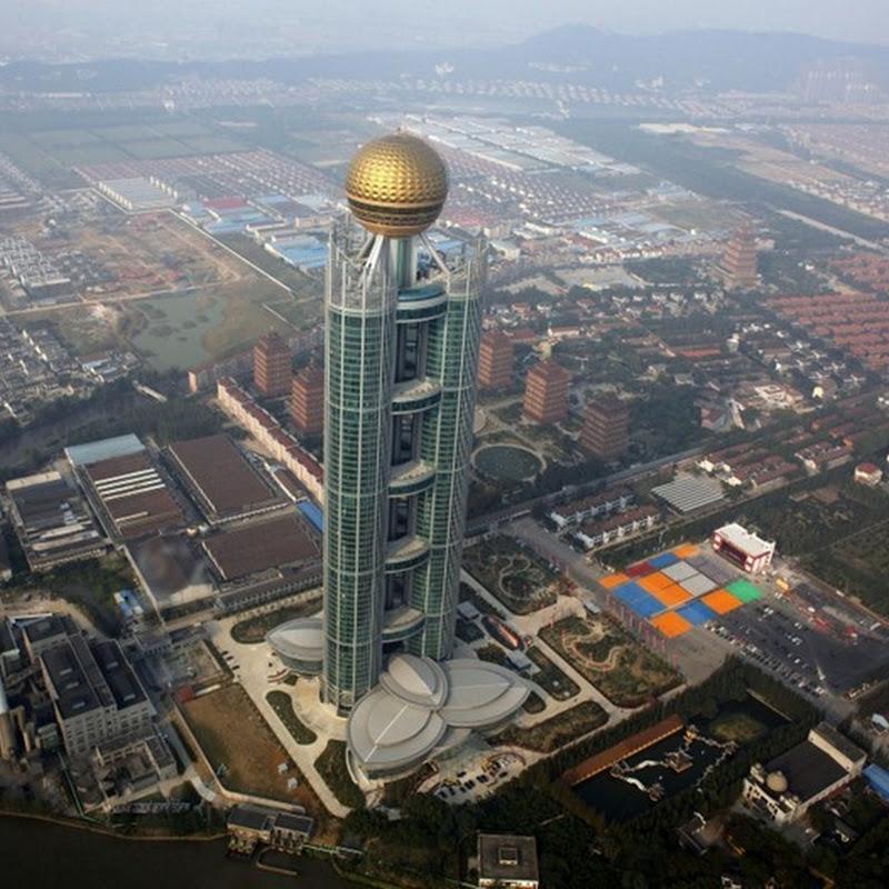 China's Richest Village Opens Skyscraper Hotel