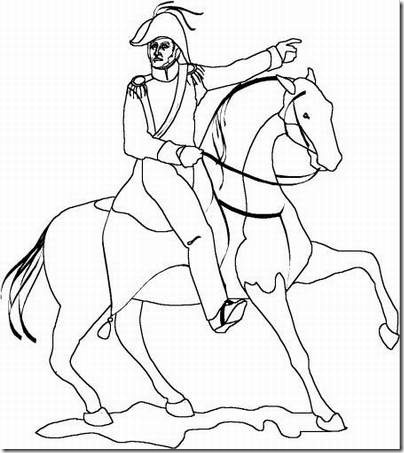 Dibujo de simon bolivar facil para dibujar  Imagui