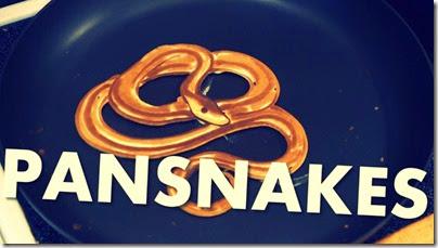 Snake pancakes
