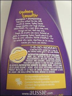Aussie Sydney Smooth Shampoo