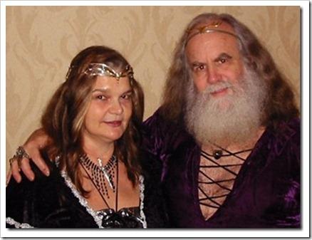 Oberon Zell-Ravenheart y su esposa Morning Glory Zell-Ravenheart.