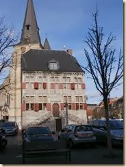 Bilzen: het oude stadhuis