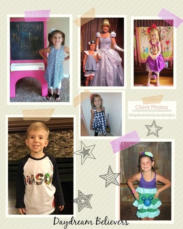 client photos daydream believers designs