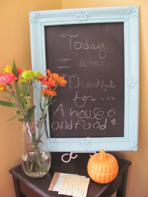 posterboard chalkboard
