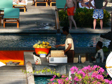 Hotel Hyatt Sanur: pool bar