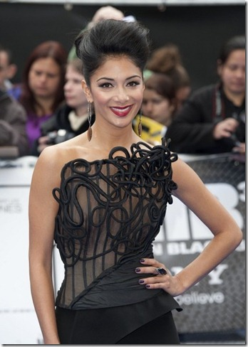 Nicole Scherzinger UK Premiere Men Black cj-nVDPNhfRl