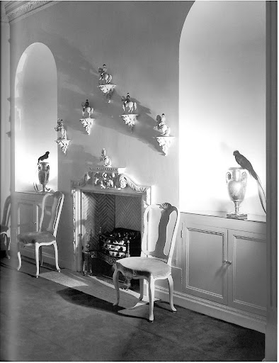 Syrie Maugham's Dining room for a London home reminds me of my old office.