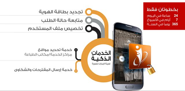 تطبيق الهوية الإماراتية Emirates ID Smart Services لأندرويد