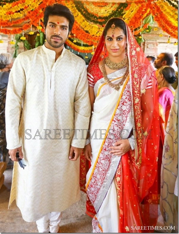 Upasana_White_Wedding_Saree (1)
