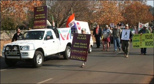 Afrikaners 2Demo Delmas May312012