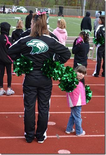 Oct 27 2012 Eagle Game Cheering 077 edited