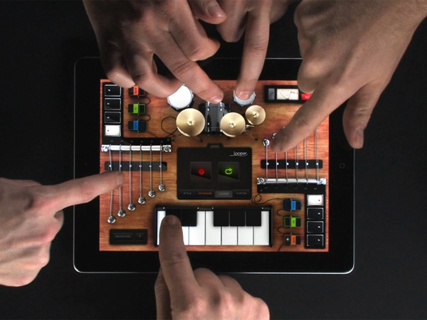 rockmate music studio for the ipad