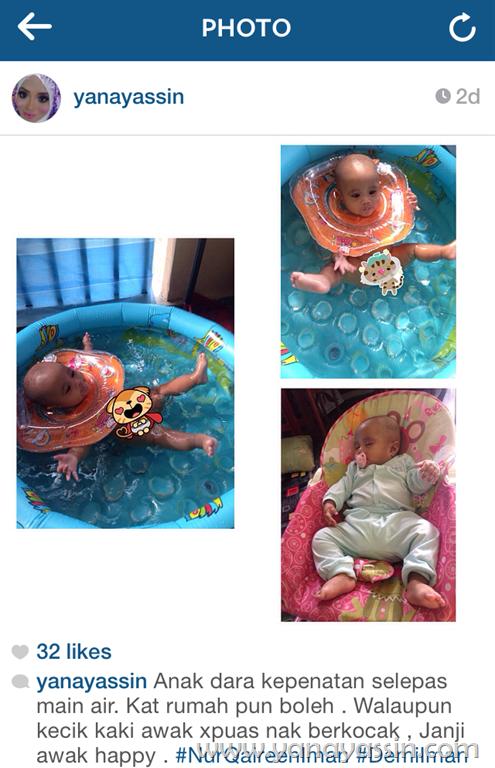 Kolam pelampung Baby