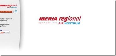 aerolinea española iberia regional air nostrum promociones ofertas