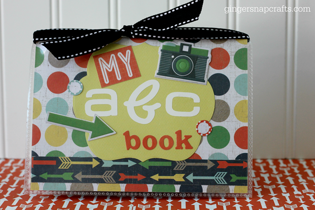 my abc book at GingerSnapCrafts.com