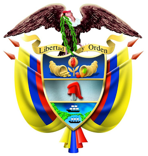 Escudo de colombia para colorear - Imagui