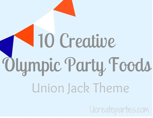 2012 Olympic Party Food Union Jack