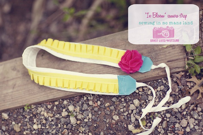 in bloom camera strap tutorial