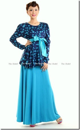 LV polkadot blue