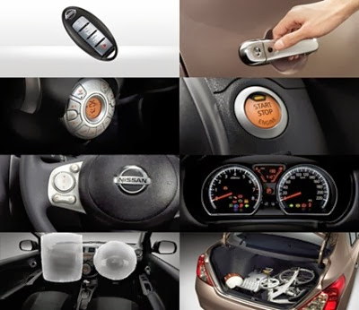nissan almera 2013 features