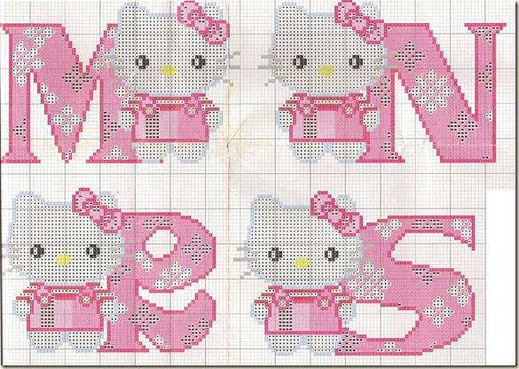 Ponto-Cruz-Abecedário-Hello-Kitty-M-N-R-S