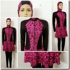 baju renang muslimah simpel