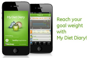 My Diet Diary Free Calorie Counter for iPhone
