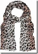 Mint Velvet Leopard Print Scarf