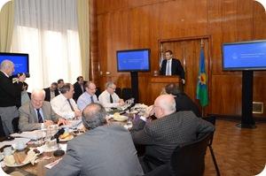 Juan Pablo de Jesús presentó los proyectos del distrito para incluir en el plan de obras públicas de Nación