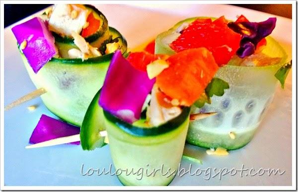 Healthy asian chicken salad 1