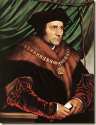 Thomas More peint par Holbein