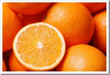 البرتقال و فيتامين سي