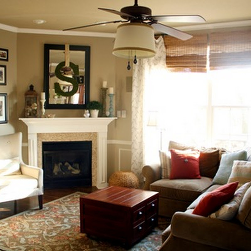 Corner Fireplace Family Room Photos