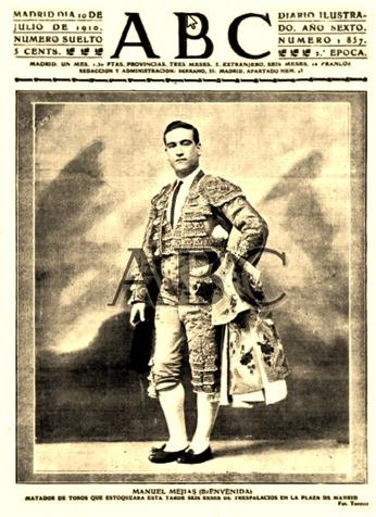 1910-07-10 (ABC) Portada con Bienvenida
