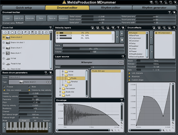 MDrummer VST Plugin