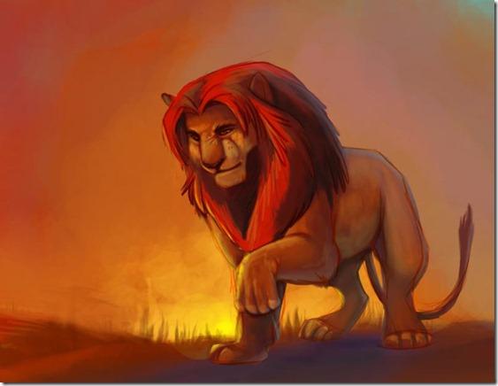 El Rey León,The Lion King,Simba (153)