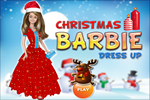 Christmas Barbie Dress Up