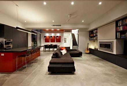 decoracion-moderna-interiores-sillones-negros