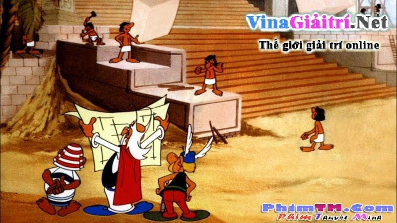 Asterix Và Nữ Hoàng Ai Cập (1968)
