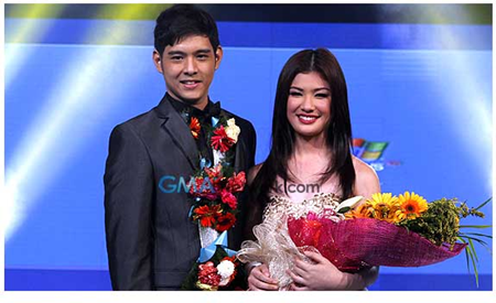 Jeric Gonzales and Thea Tolentino