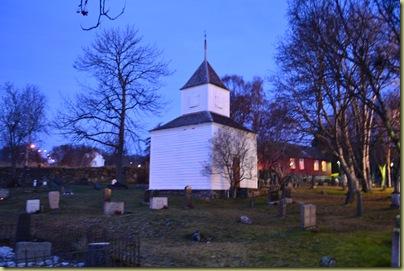 Church Tower on ground