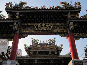 One of the temples at the Chinese area in Yokohama!!!