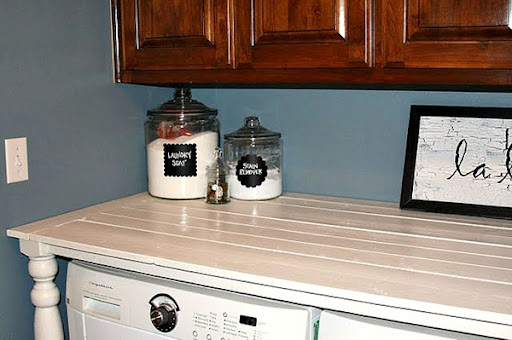 Read More From DIY Laundry Room Counter At Ucreate