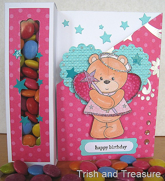 Fairy Teddy Card 009