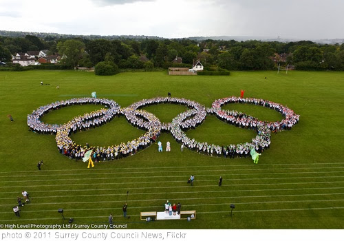 'Olympic Rings George Abbot School' photo (c) 2011, Surrey County Council News - license: http://creativecommons.org/licenses/by-nd/2.0/