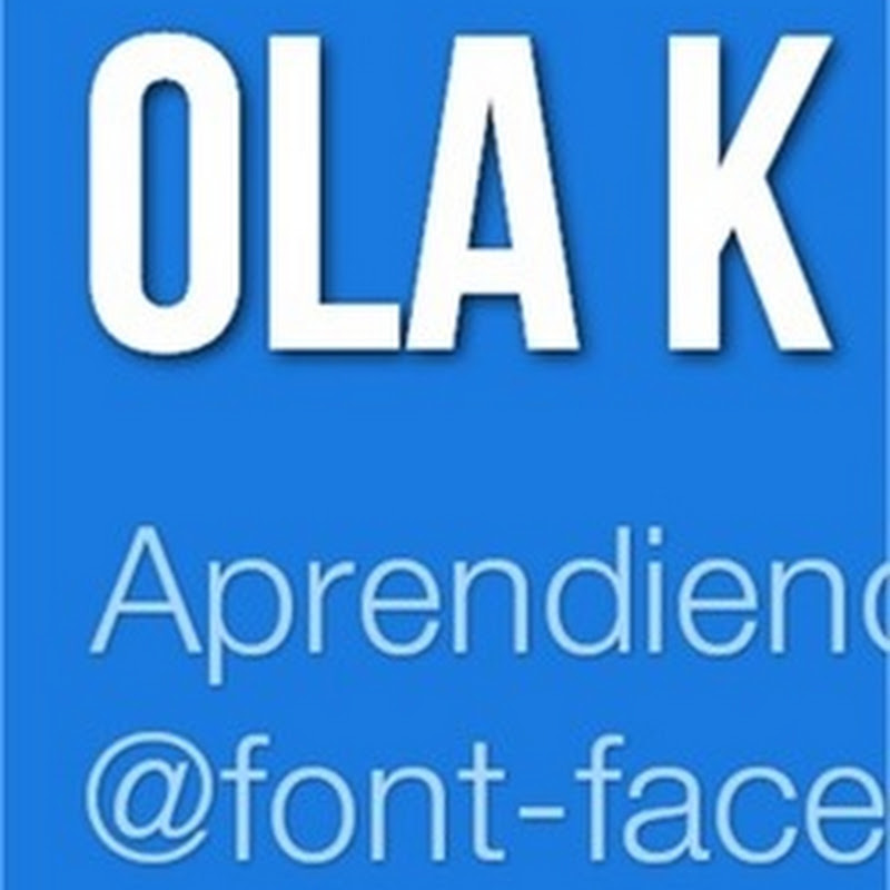 Cómo usar font-face en todos los navegadores y no morir al usarlo en IE