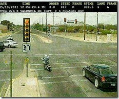 Traffic violation picture